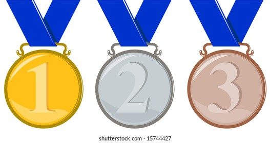 olympic medal isolated stock illustrations images vectors rh shutterstock com olympic medal clipart transparent olympic medal clipart black and white