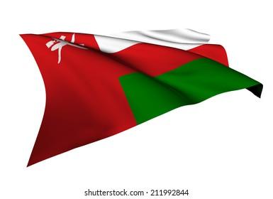 Oman flag - collection no_5