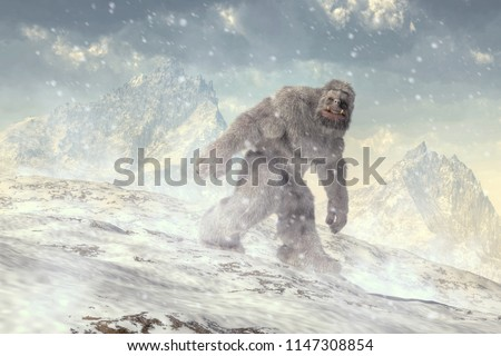 On a cold plain
