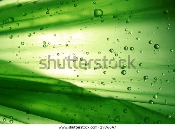 once again green background