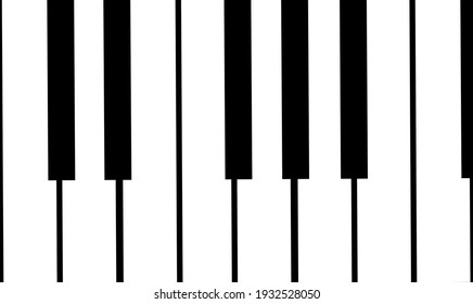 One octave, basic scale, keyboard. Musically, the piano, an acoustic stringed musical instrument. Refers to sound. Illustration with reference to art. Musical notes. C, D, E, F, G, A, B. Solfege.