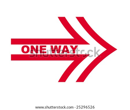 Royalty Free Stock Illustration Of One Way Symbol Stock Illustration