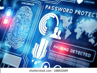 Online Security Technology background