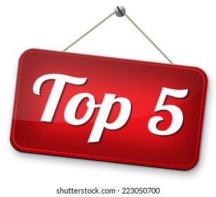 op 5 charts list pop poll  result and award winners chart ranking music hits best top five quality rating prize winner