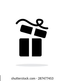 Open gift box icons on white background.