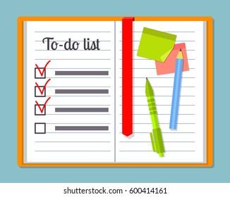 clipboard todo list template pencil pen のベクター画像素材