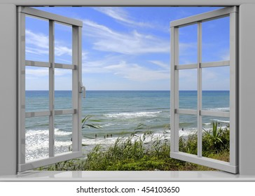 Open Window to the Summertime - 3D