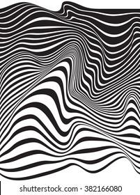 optical art opart striped wavy background jpeg version