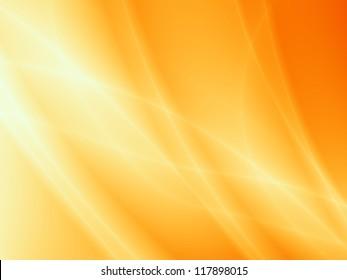 ORANGE background abstract art wave pattern illustration