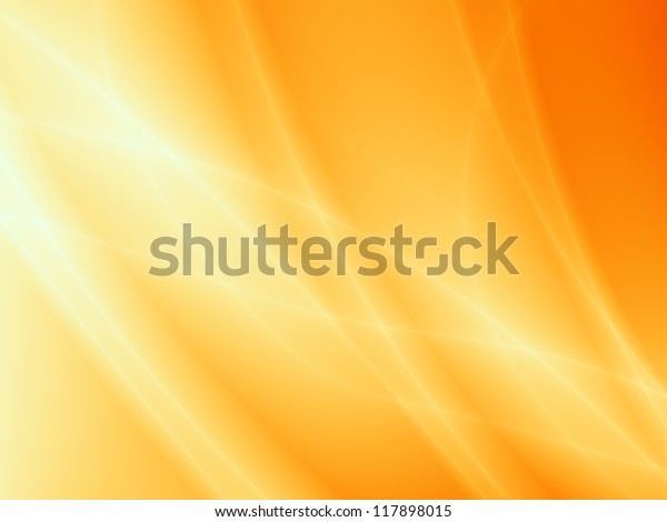 ORANGE background abstract art wave pattern illustration