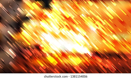 Orange Black and White Abstract Asymmetric Irregular Lines Background