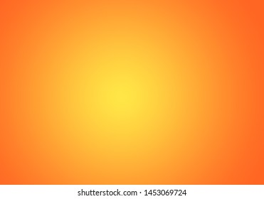 Orange blurred background. gradient design