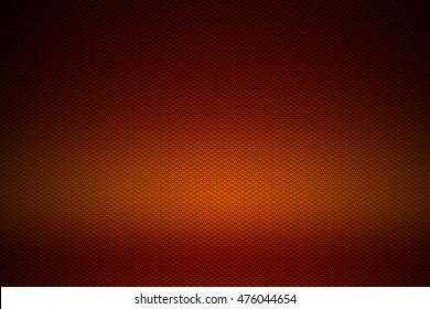 orange chrome metallic mesh. metal background and texture. 3d illustration.
