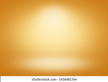 Orange gradient background limbo classic