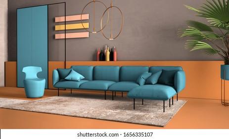 Blue Living Room Images Stock Photos Vectors Shutterstock