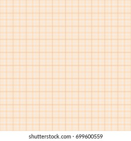 vector orange metric graph paper seamless stock vector royalty free