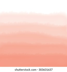 Orange Ombre Watercolor Background