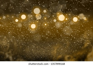orange pretty bright abstract background glitter lights with sparks fly defocused bokeh - festive mockup texture with blank space for your content