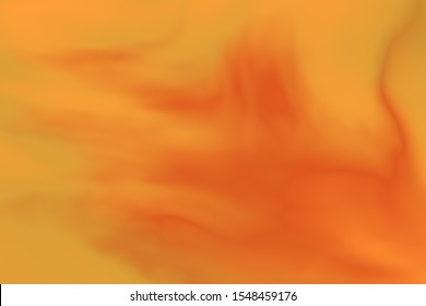 Orange and red Colorful flowing haze misty foggy smoke smoky creative artistic happy dreamy and fun blurry motion wavy multicolored splashed clouds sky paint canvas abstract gradation background