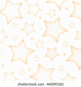 Orange Stars Background