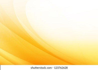 Orange Wave Abstract Background