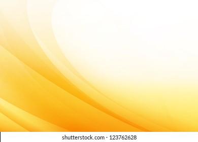 Orange Wave Abstract Background