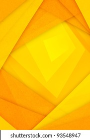 orange and yellow abstract paper background