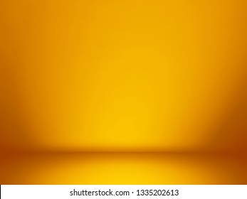 Orange and yellow background. Abstract orange background for web design templates, christmas, valentine, product studio room and business report with smooth gradient color.
