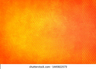 Orange and yellow background. - Image