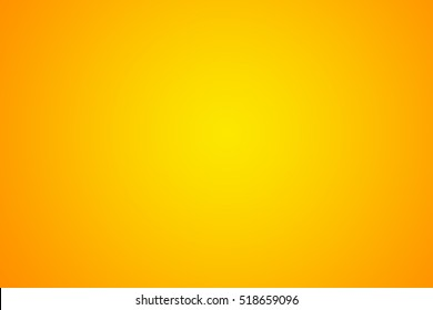 Orange and yellow Gradient abstract background - Studio backdrop  display product