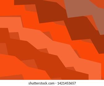 Orange+some light sade colour pettern background