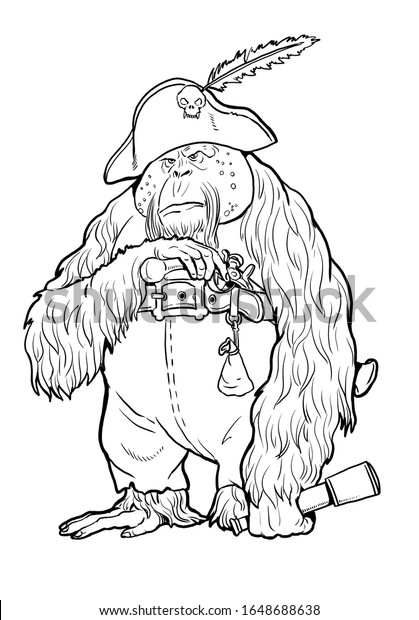Orangutans coloring pages | Free Coloring Pages | 620x419