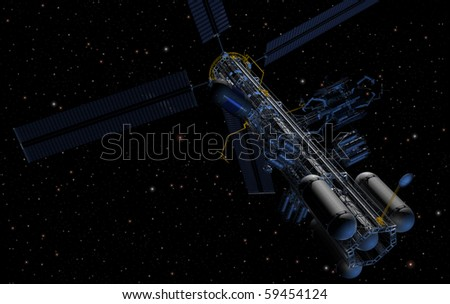 Orbital platform for refueling operations