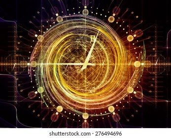 Orbits of Destiny series. Abstract design made of sacred symbols, signs, geometry and designs on the subject of astrology, alchemy, magic, witchcraft and fortune telling