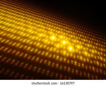 Orbs of Gold 3D - Fractal Design