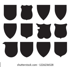 The ordinaries and other heraldic charges icons