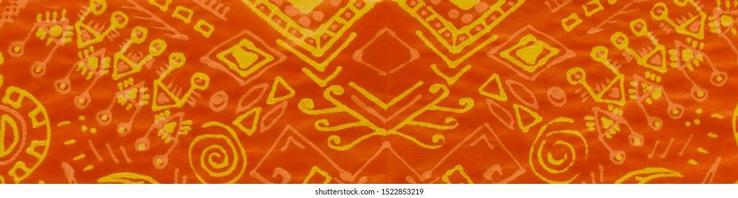 Organic Exotic Batik Print. Persian Flower Print. Sun Ink Painted Spring Poster. Indian Organic Pattern. Fall Moroccan Floral Pattern. Indian Wedding Motifs. Batik Wallpaper.
