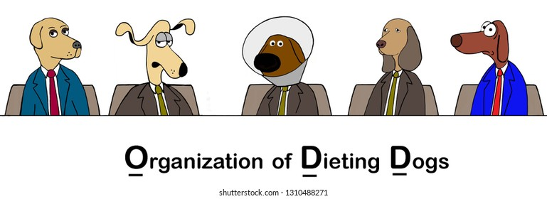 An organization for dogs who are unhappy about dieting
