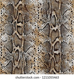 Orgin snake leather backgrounds pattern desing
