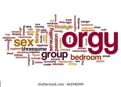 Millennials orgie