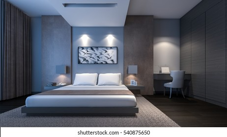 Bedroom Night Images Stock Photos Vectors Shutterstock