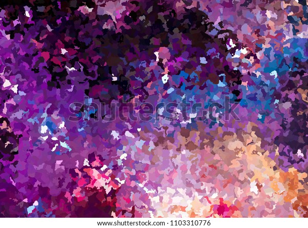 Original abstract painting. Creative pattern background. Chaotic brush strokes drawing. Good for any printed production, print on fabric, clothes and ceramic. Template for design products decoration.