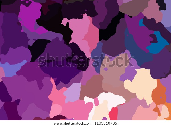 Original abstract painting. Creative pattern background. Chaotic color mixed art. Good for any printed production, print on fabric, clothes and ceramic. Template for design products decoration.
