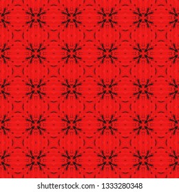 Original bohemian seamless pattern. Inspired by acient tribal themes. Bohemian seamless pattern for use in web and digital design, craftworks and fashion products.