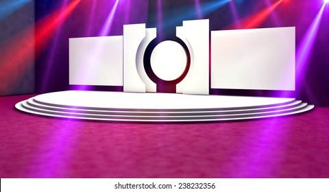 Original designed stage