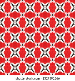 Original ethnic seamless pattern. Inspired by traditional African themes. Ethnic seamless pattern for use in web and digital design, craftworks and fashion products.