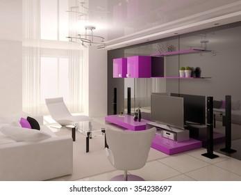 Hi Tech Living Room Hd Stock Images Shutterstock