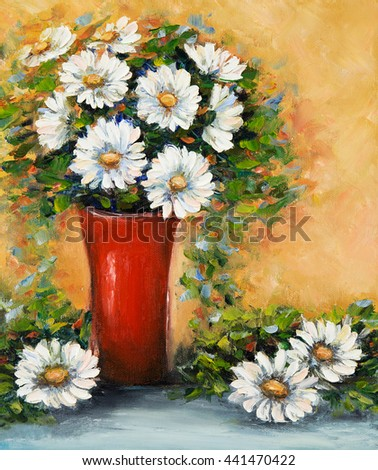 Royalty Free Stock Illustration Of Original Oil Painting Beautiful