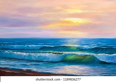 scenery painting images stock photos vectors shutterstock