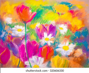 Oil Pastel Drawing Photos 60 616 Oil Pastel Stock Image